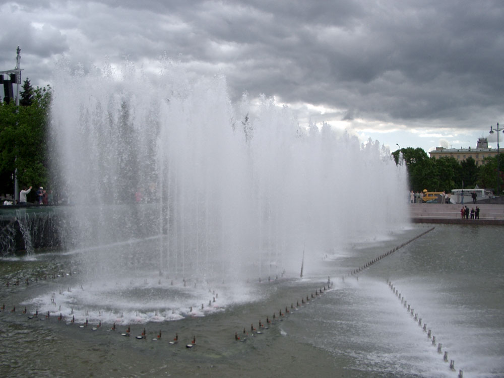 The Singing Fountains of Ploshschad Lenina