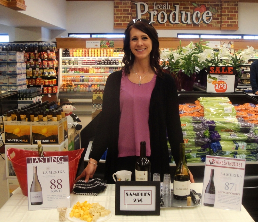 Libations will be handling promotions for beer, wine and spirits throughout area Dave's Markets.