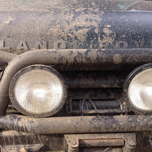 Columbia Overland gets muddy