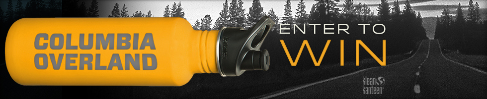 Limited edition Columbia Overland Klean Kanteen drawing is limited to one per customer.