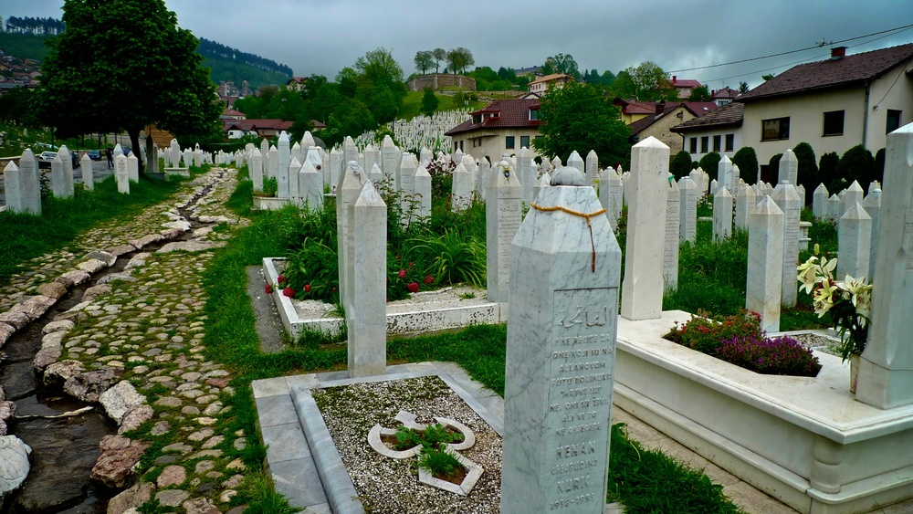 The deaths of Sarajevo...