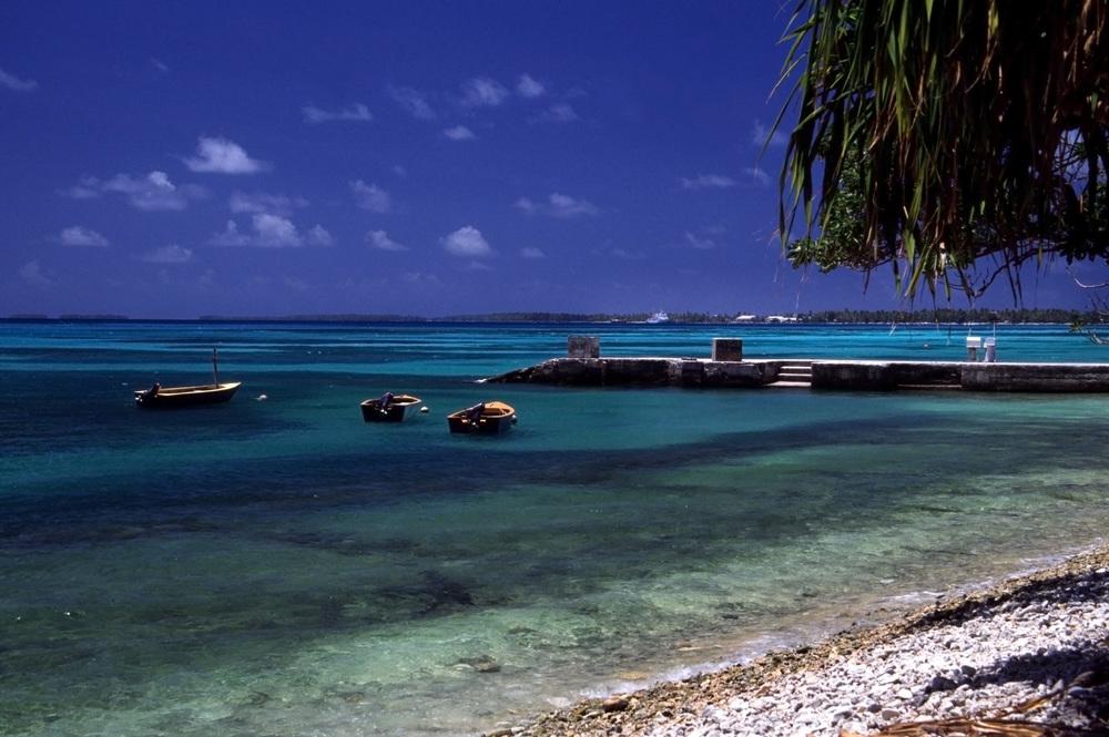 Tuvalu's fishing hub