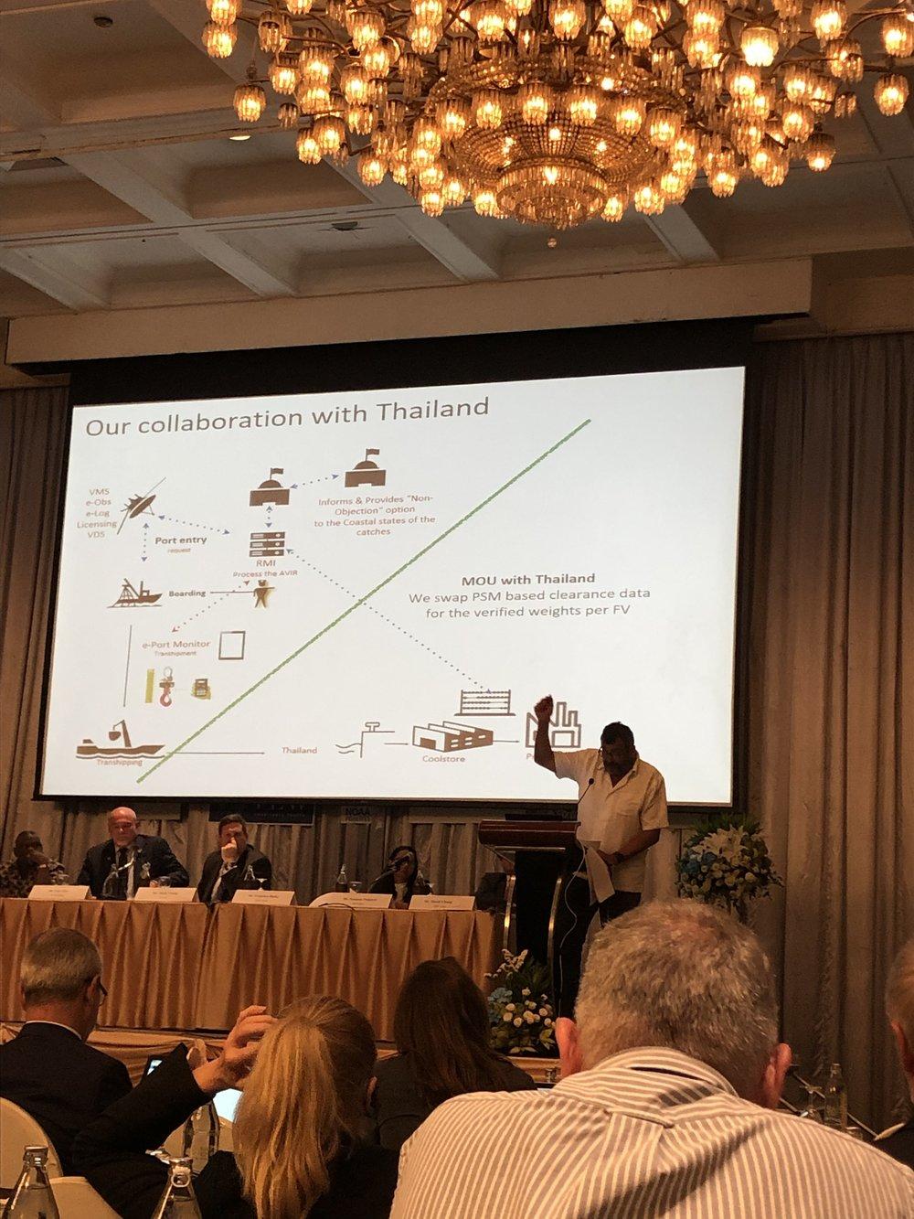 our MoU in one slide (pic by Lara Manarangi)