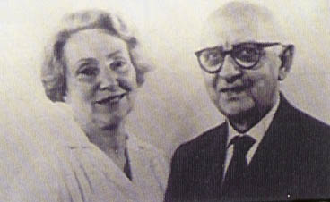 Dr Emil Vodder and his wife