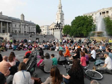 Flash Mob Meditation