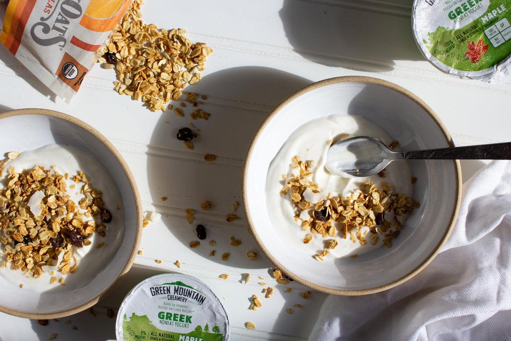 Granola Yogurt Breakfast Bowl