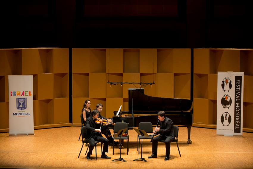 "Bartok's ""Contrasts"" with clarinetist Alexander Fiterstein and violinist Victor Fournelle-Blain at the Montreal Chamber Music Festival (June 12, 2015)"