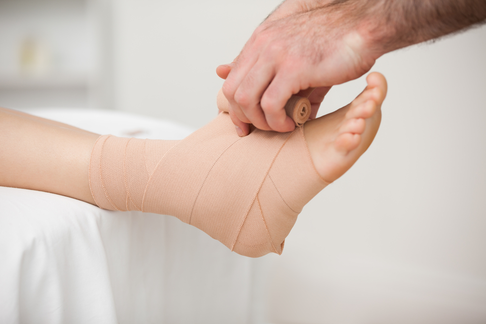 Podiatry office procedures for foot and ankle pain