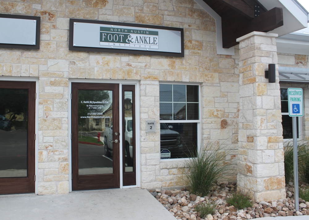 Cedar Park Podiatry Office Entrance
