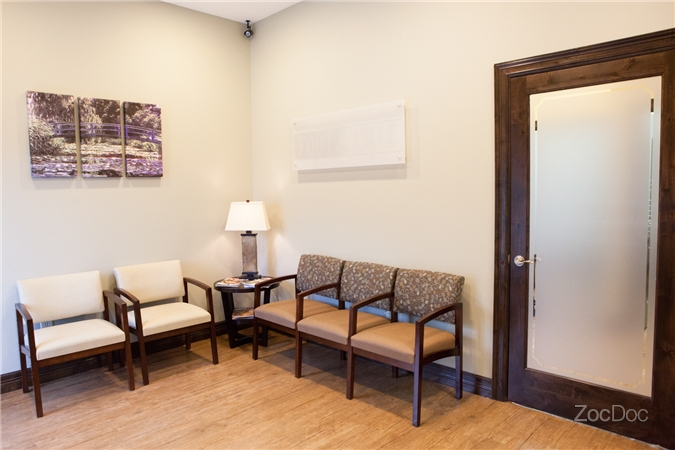 Cedar Park Podiatry Office Waiting Room