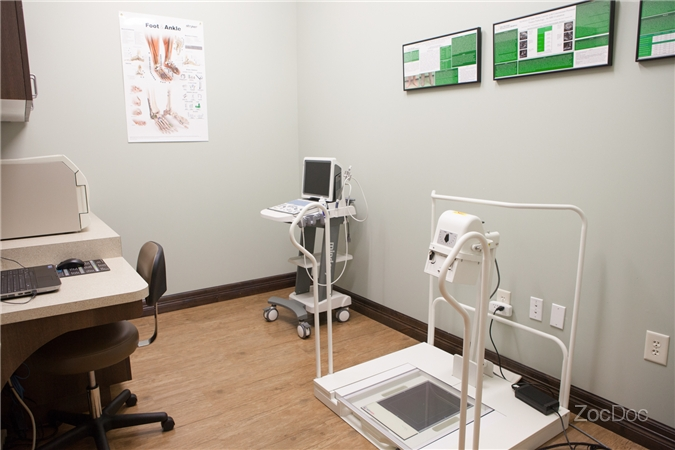 Cedar Park Podiatry Office X-Ray Room
