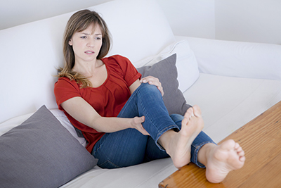 Woman with Bunion