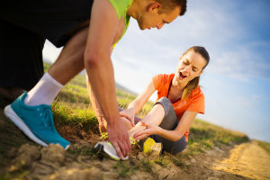 First Aid for Ankle Sprains