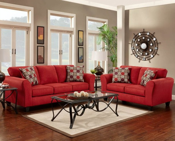 red living room furniture ideas patriot smartbuy furniture 21917