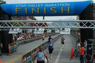 FINISHED! Utah Valley Half Marathon - June 21, 2011