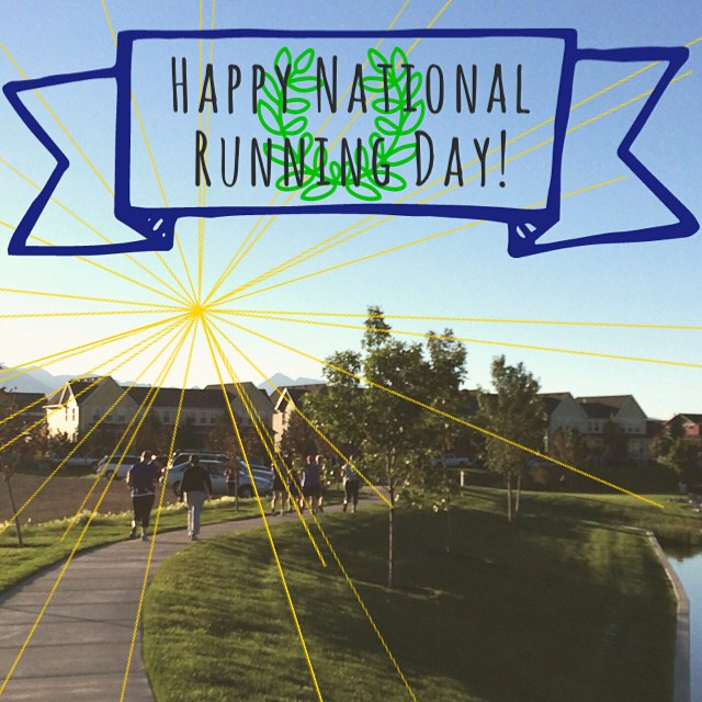 Happy National Running Day!#happynationalrunningday #runningday #run #marathontraining #halfmarathon #marathon #slcgalloway #utahrunning #madewithcover