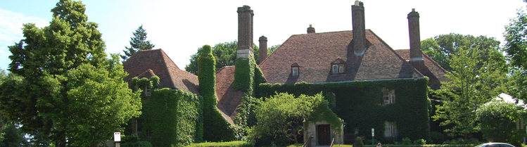 Harley-Clarke mansion. Image source: City of Evanston.
