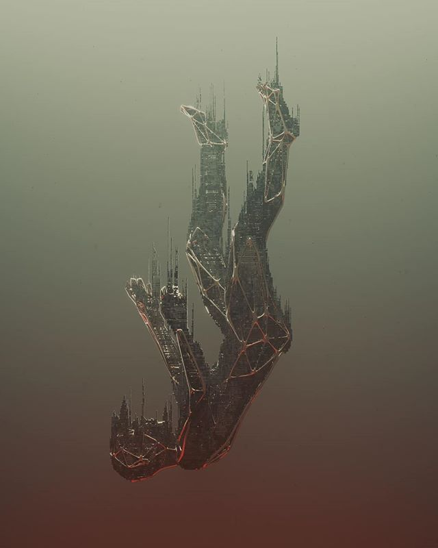 0x03⠀ ⠀ #b3d #cyclesrender #foss #polytrash #deliverance #voxel #voxels #decimation #mist #volumetric #render #3D #CG #digital #art #mdcommunity #mgcollective #human #figure #falling #drifting #angles #distorted