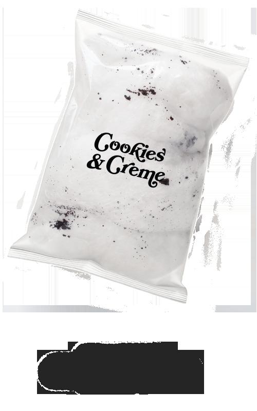 cookies & creme bag