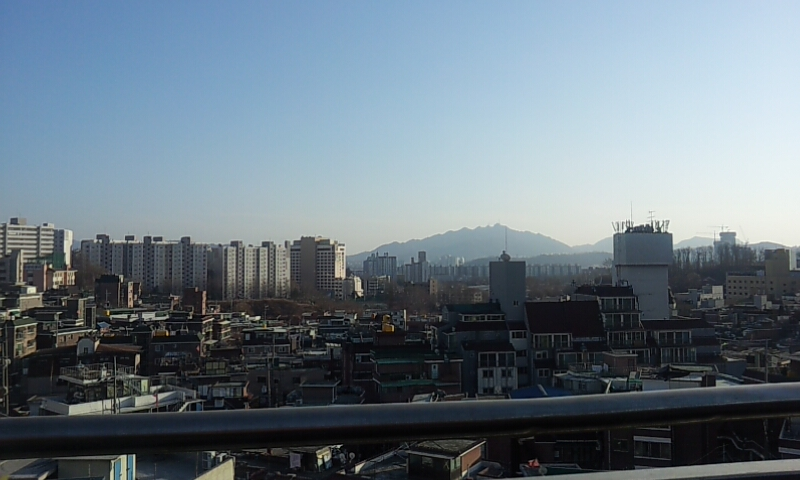 View of Itaewon from JR's, March 2014