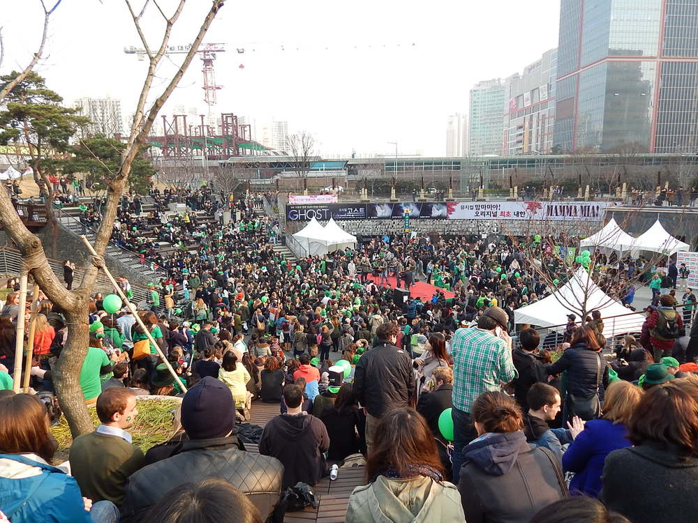 St Patrick's day celebrations, Sindorim, March 2014