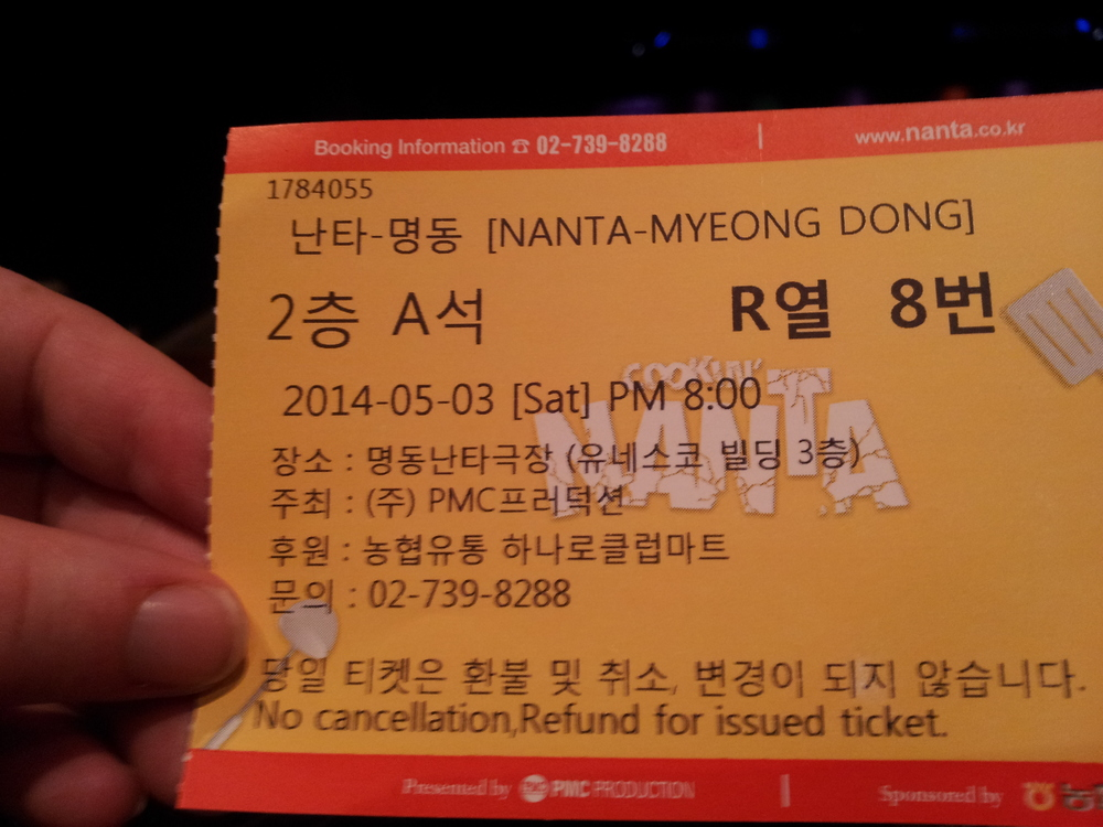 Nanta Ticket
