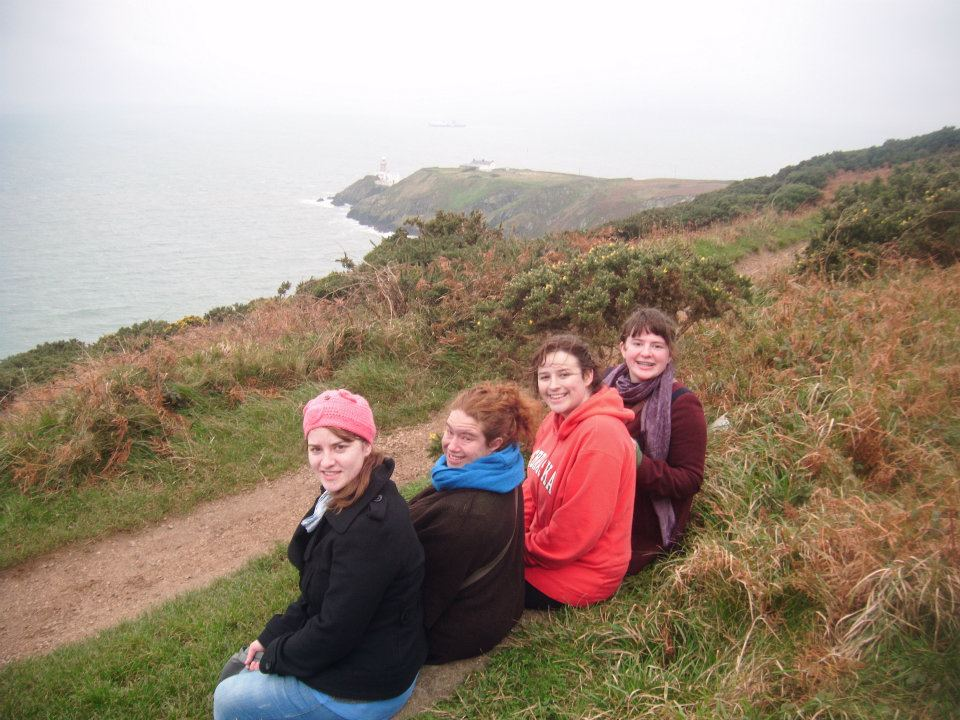 Howth cliff walk  (Photo courtesy of my sister)