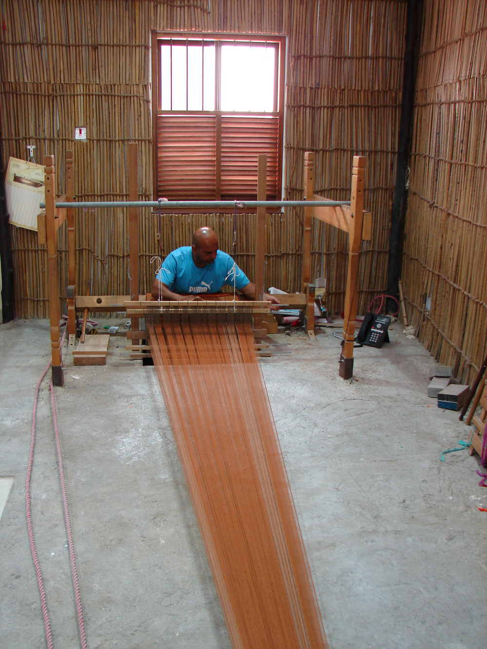 Bani Jamra Village Cloth Weaving Centre