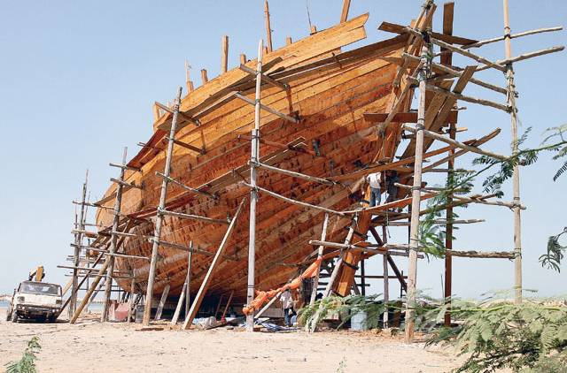 Dhow Building in Muharraq
