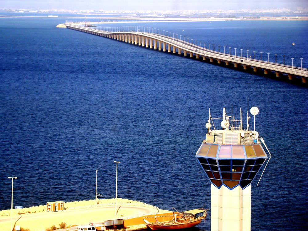 King Fahad Causeway to Saudi Arabia
