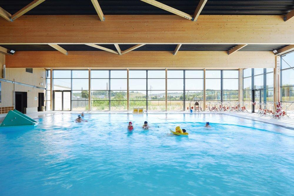 L'Aa piscine de Lumbres ( 62 ) - CHABANNE + PARTENAIRES