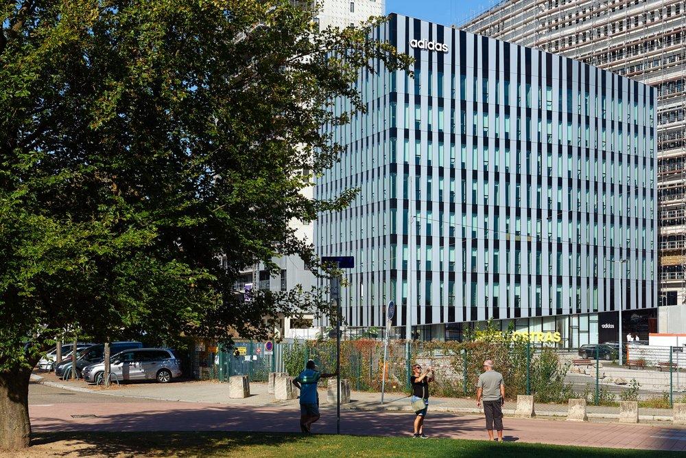 Adidas France + Crédit Mutuel - Quartier Wacken à Strasbourg ( 67 ) - Bouygues Bâtiment Nord-Est