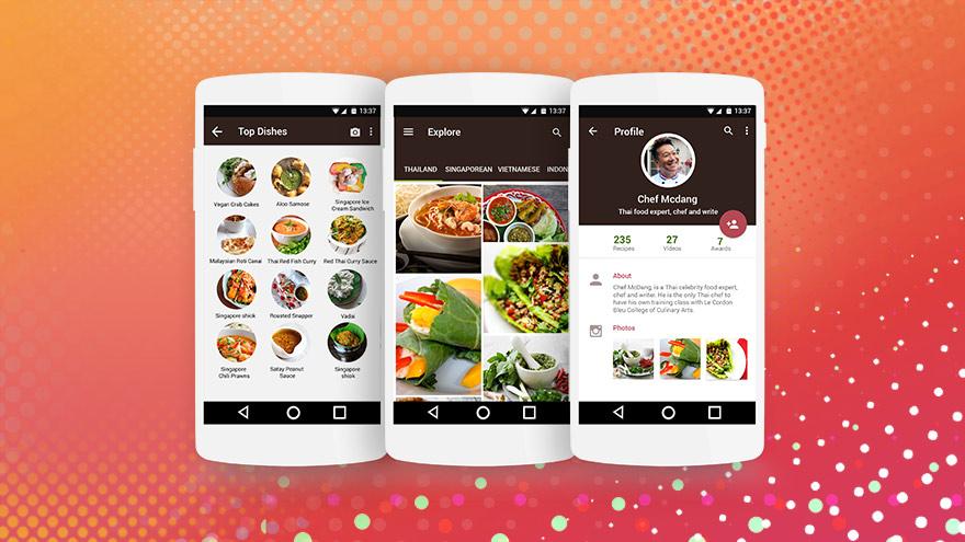 Thai food app