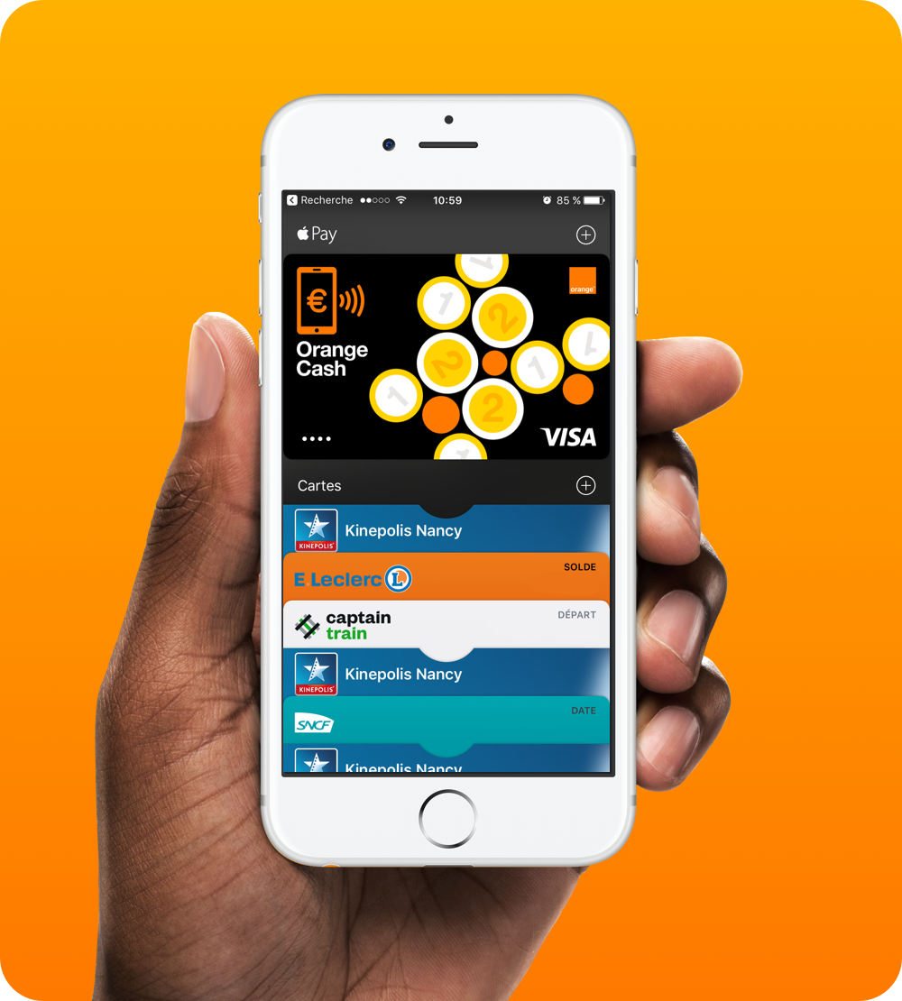 Orange Cash France - iOS app - 2016