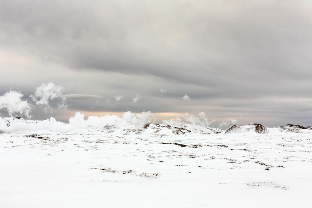 Steam on Snow (1), 2014