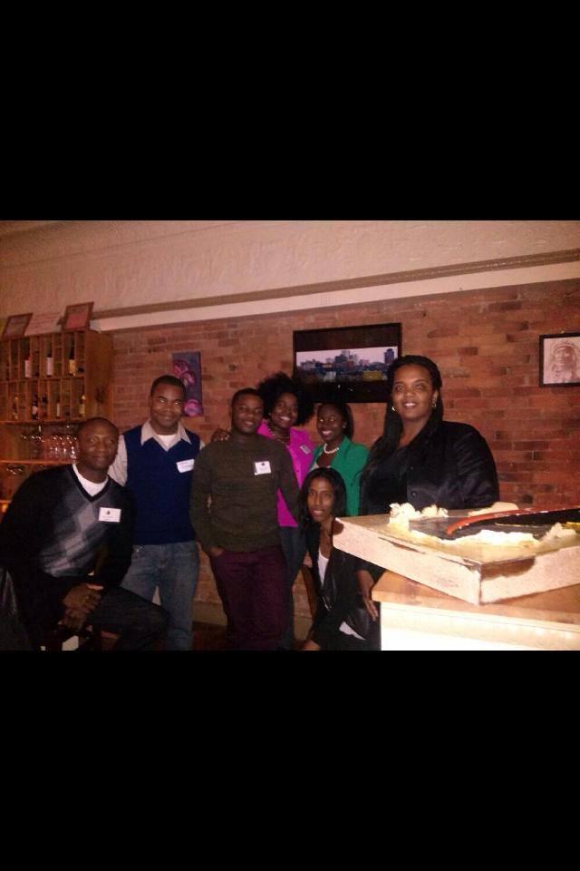 Thanksgiving Potluck Social - 2013