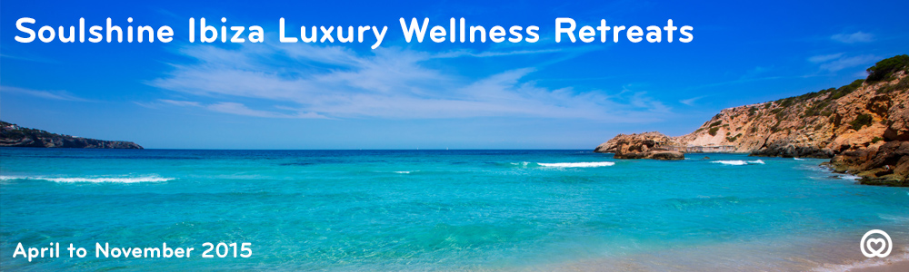 Due to the astounding success of Ibiza Soulshine Retreats in 2014 we're back with more dates for 2015 and an even bigger and more brilliant Soulshine Team and our very own luxury Soulshine Retreat Centre to ensure that you have the best possible Soulshine Retreat experience ever!