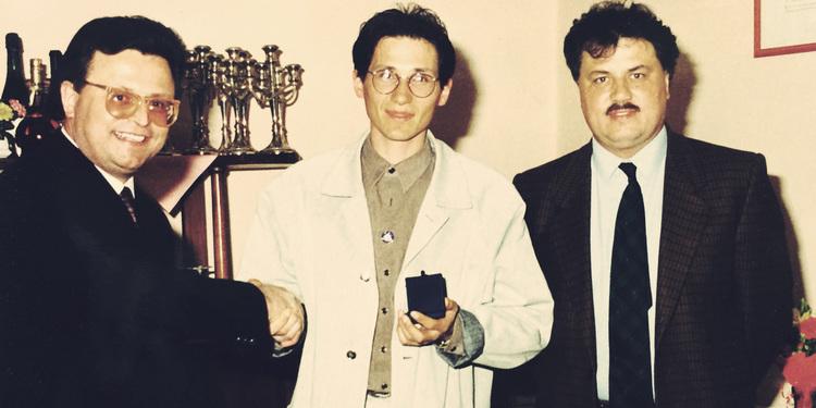 Premiazione concorso commercianti Saonara 1989