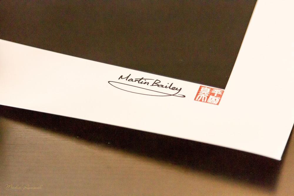 9: Artist's Signature