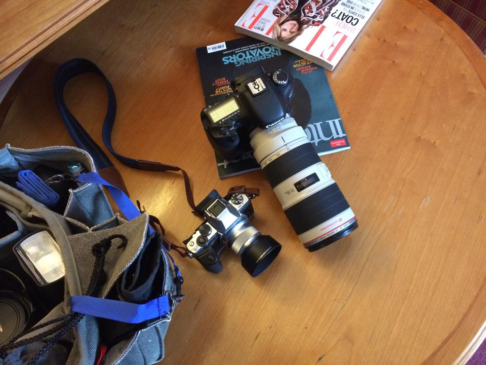Tag Team Supreme: Canon DSLR & Olympus OM-D Mirrorless