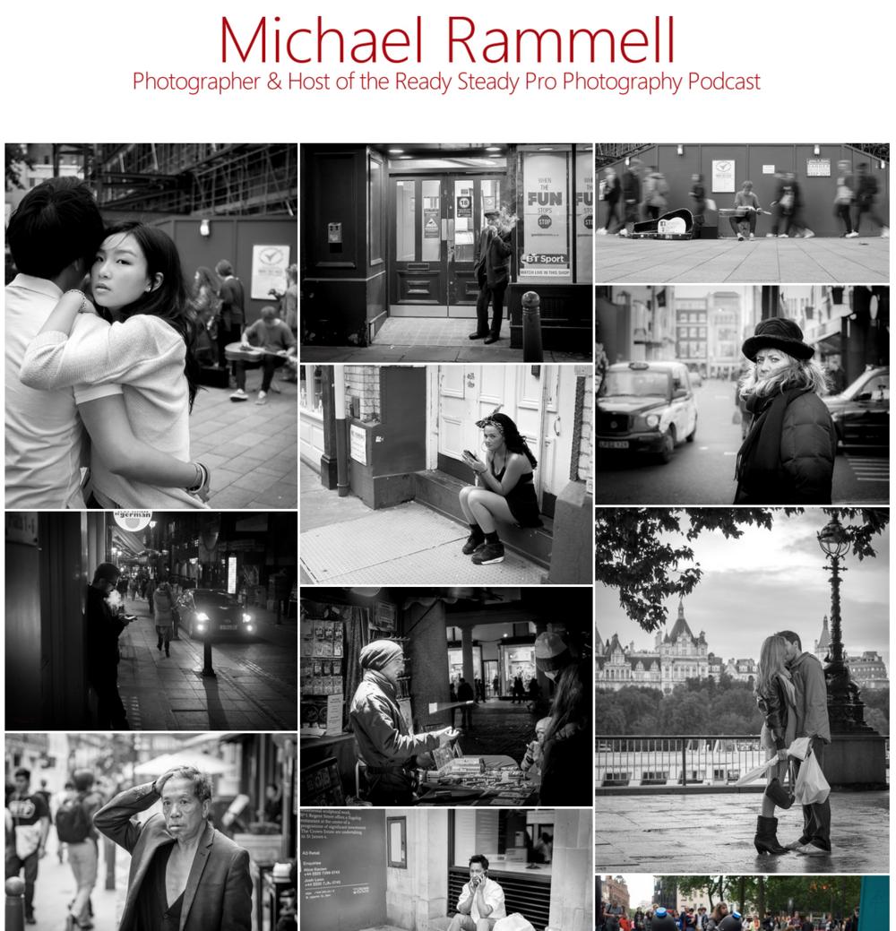 Mostly Mono Portfolio - MichaelRammell.com