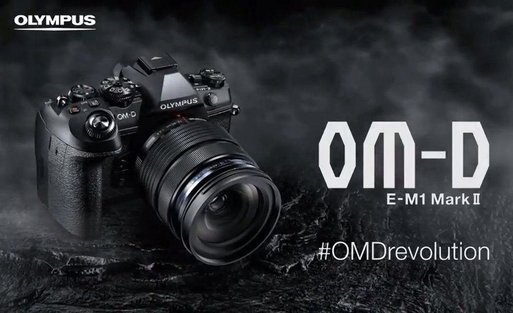 #OMDRevolution - the Olympus OM-D E-M1ii has been announced! The OM-D E-M1ii will sit firmly at the top of the OM-D range and is Olympus' new flagship Mirrorless Micro Four Thirds Camera.