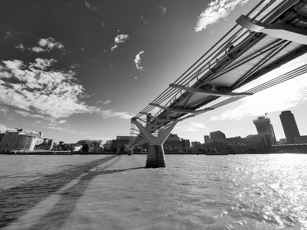 London's Millenium Bridge