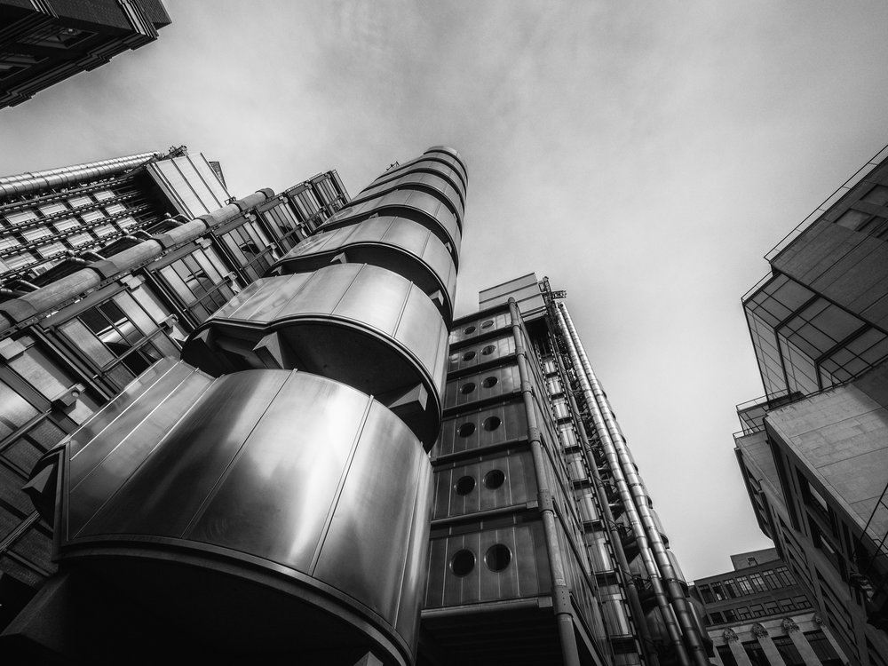 Lloyds of London Iconic Shot