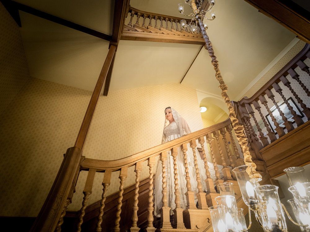 My first bride of 2016 photographed with the Olympus M.Zuiko 7-14mm f/2.8 PRO lens