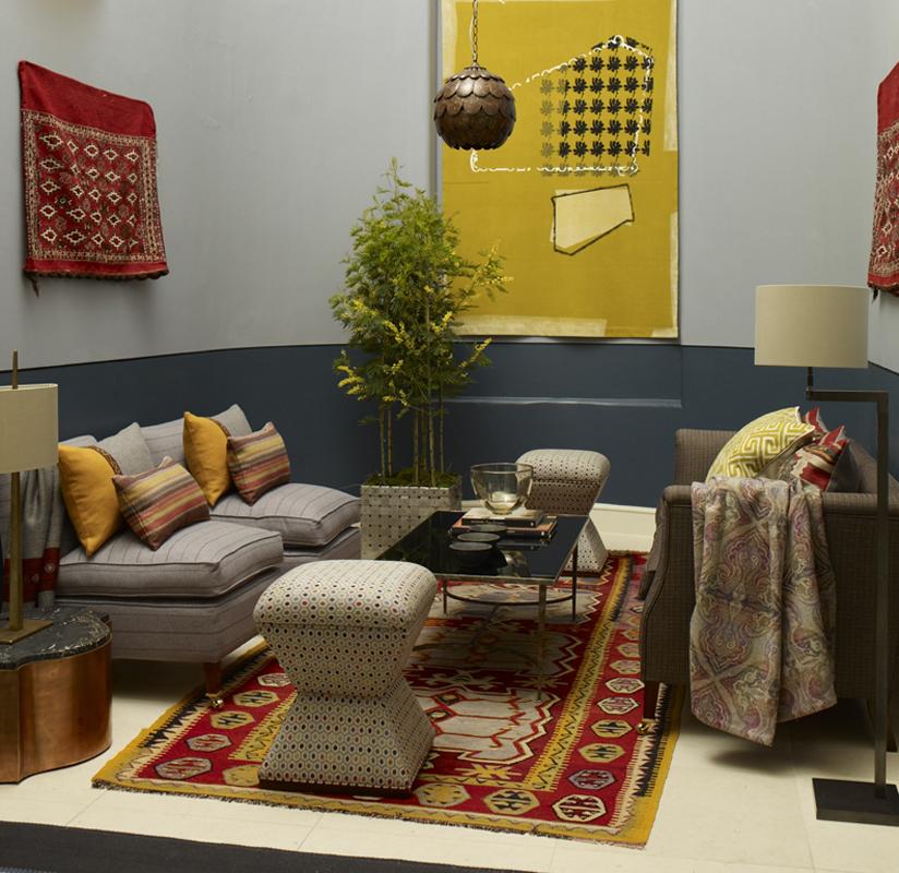 Wool House at Somerset House / Set Design: Arabella McNie