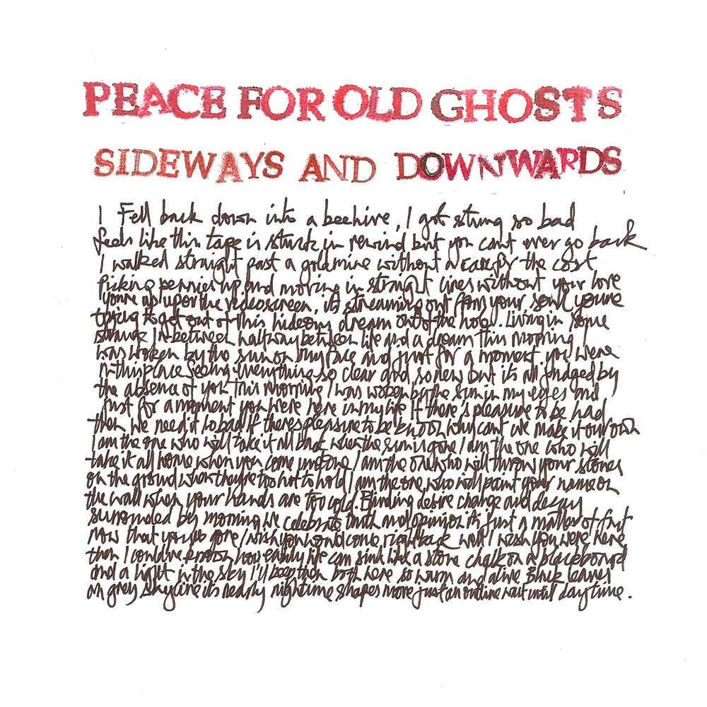 from Peace For Old Ghosts > Sideways and Downwards
