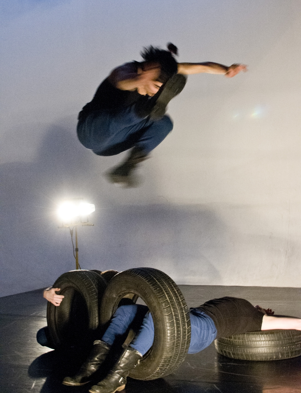 Performers : Mateo Galindo Torres, Rachel Cowal, Lisa Emmons Photo credit :Ömer K. Yükseker