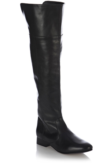 OASIS - Olive Over the Knee Boots. Was £70, NOW £40