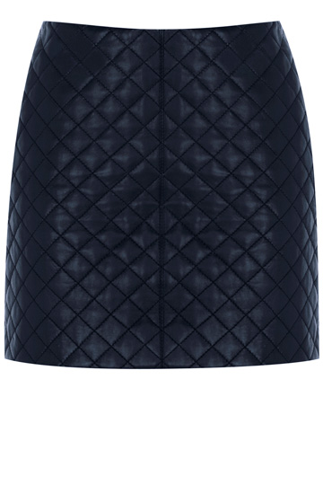 OASIS - Quilted Leather Skirt. Was £80, NOW £40